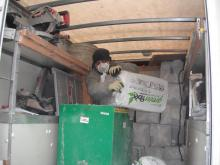Spray foam insulation, fiberglass insulation, cellulose insulation, foam board insulation