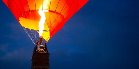 What Does A Hot Air Balloon Amp Your Home Have In Common Orange Energy