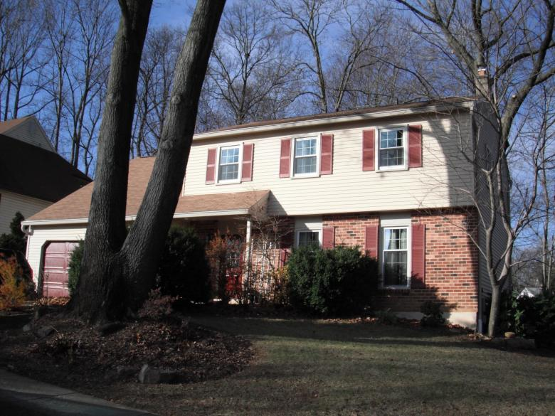 The 1600-square feet residence in Wayne, PA underwent extensive air sealing and insulation upgrades.