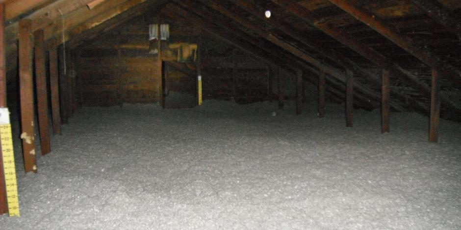 Cellulose Insulation - Attic